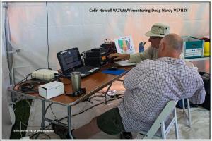WARA Field Day - Colin & Doug
